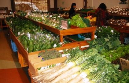 萌の里 野菜販売