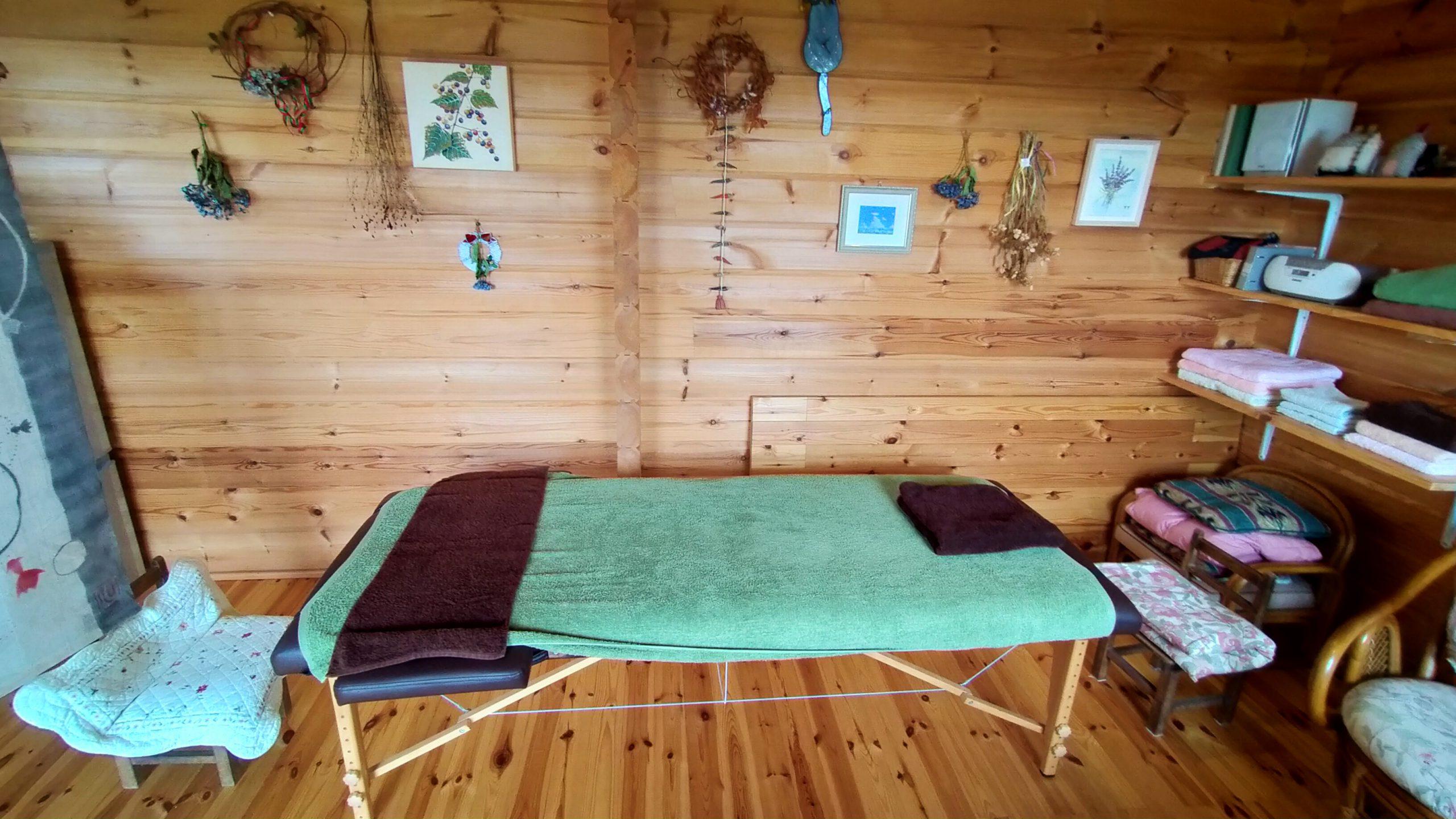 森の癒 施術