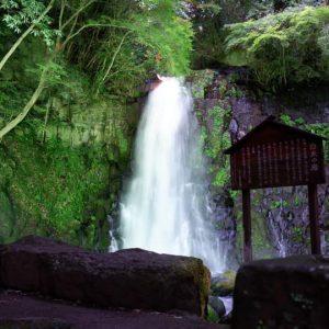 白糸の滝ライトアップ2021