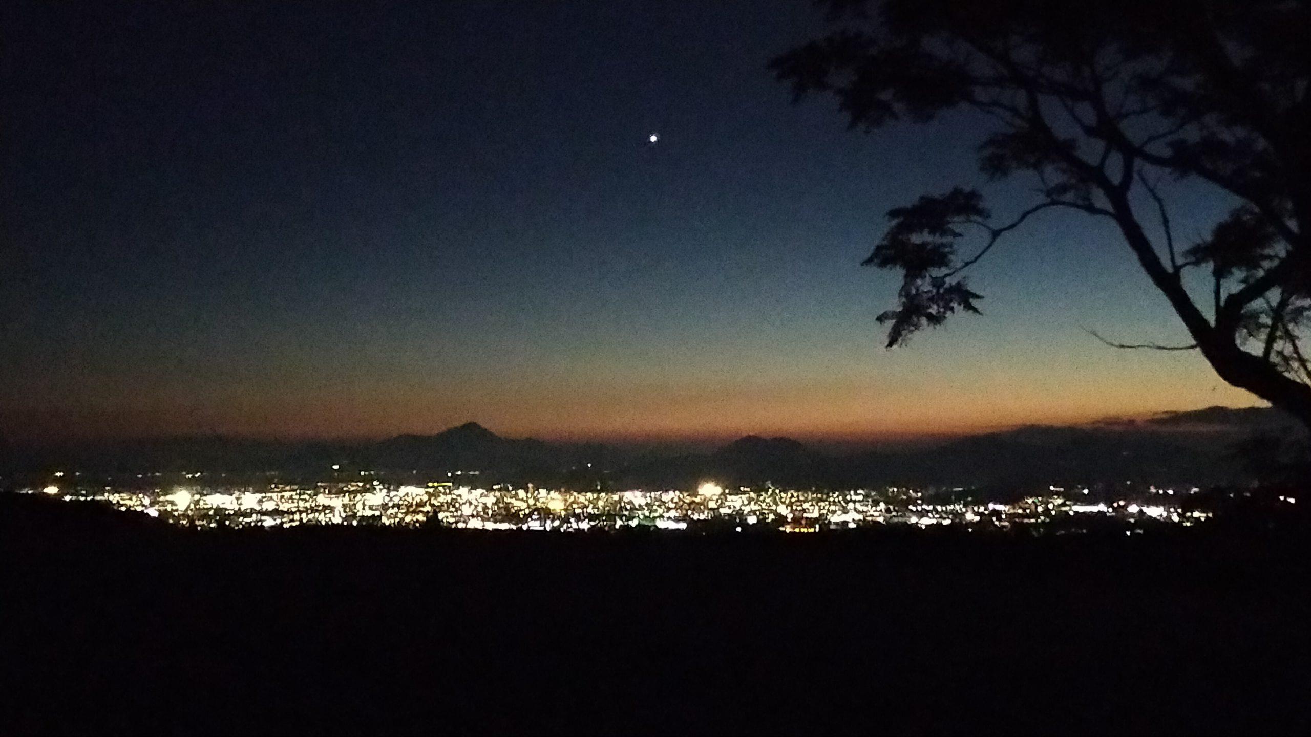 ケニーロード 夜景