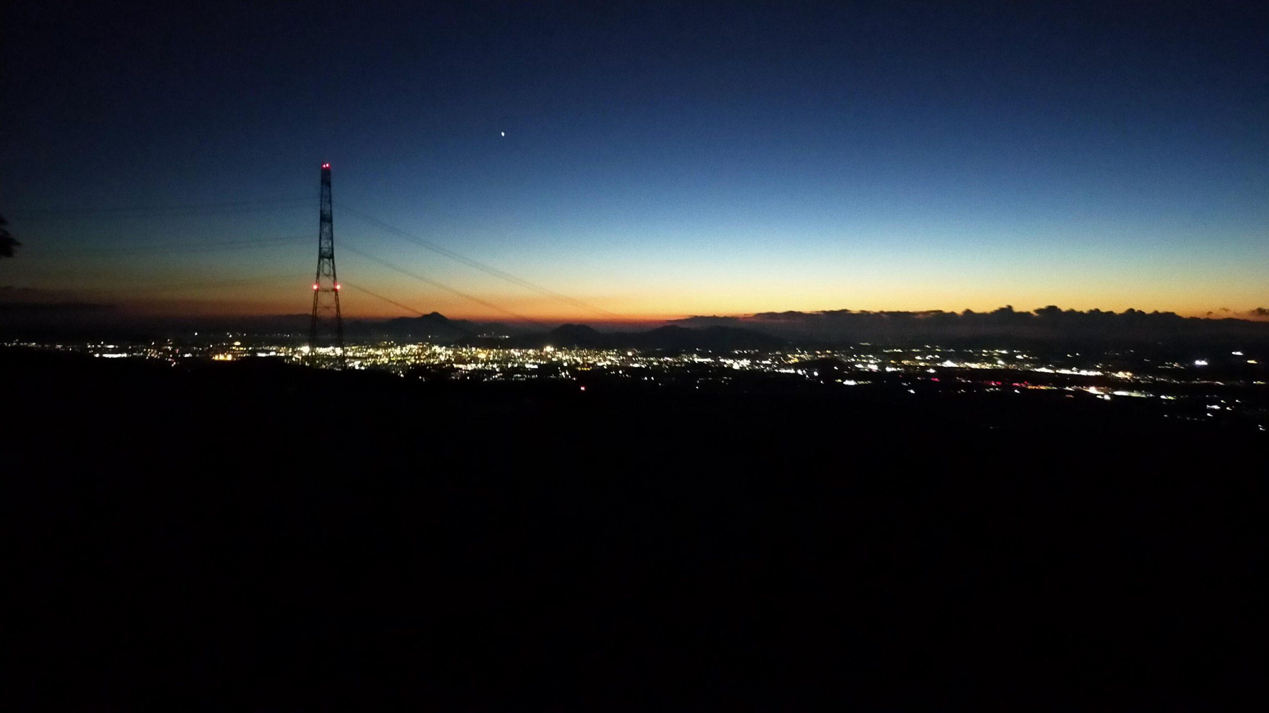 ケニーロード展望台 夜景